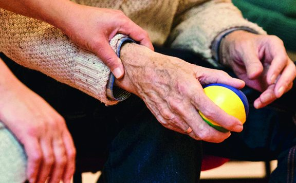 Knuffel geven als vrijwilliger