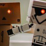 Knuffelen met robots