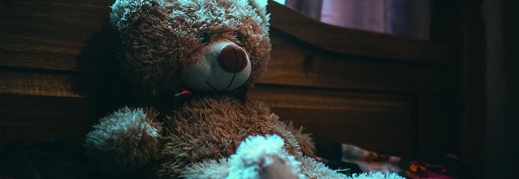 teddybeer als pion